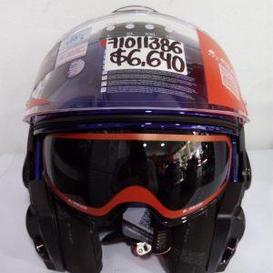 casco ls2 valiant azul