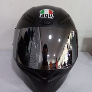 Casco marca agv modelo K-1 color negro mate