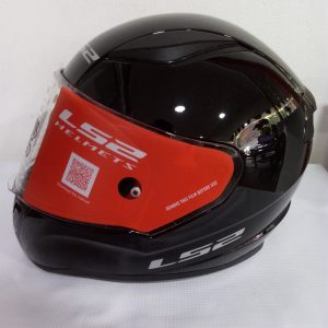 casco certificado marca ls2 modelo rapid color negro