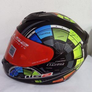 casco marca ls2 negro mate modelo rapid